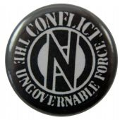 Conflict - 'The Ungovernable Force' Button Badge